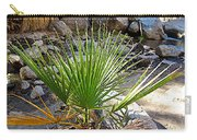 Fan Palm Leaf Over Andreas Creek In Indian Canyons-ca Carry-all Pouch