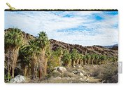 Fan Palms Line The Creek In Andreas Canyon In Indian Canyons-ca Carry-all Pouch
