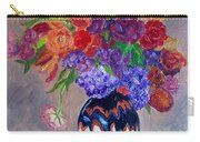 Fanciful Bouquet Carry-all Pouch