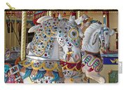 Fanciful Carousel Ponies Carry-all Pouch