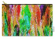 Fanciful Colors  Abstract Mosaic Carry-all Pouch