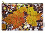 Fancy Fall Leaves Carry-all Pouch