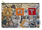Fancy Mosaic Carry-all Pouch