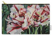 Fancy Parrot Tulips Carry-all Pouch