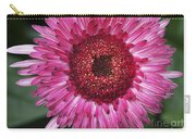 Fancy Pink Daisy Carry-all Pouch