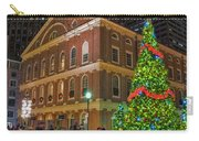 Faneuil Hall Night Carry-all Pouch by Joann Vitali