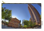 Faneuil Hall Square Carry-all Pouch by Joann Vitali