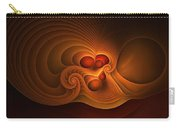Fanfare Orange Carry-all Pouch