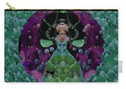 Fantasy Cat Fairy Lady On A Date With Yoda. Carry-all Pouch
