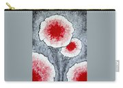 Fantasy Flowers In Red No 1 Carry-all Pouch