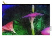 Fantasy Flowers Lux Carry-all Pouch