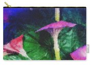 Fantasy Flowers Pastel Chalk 2 Carry-all Pouch