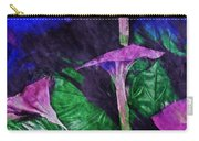 Fantasy Flowers Watercolor 2 Hp Carry-all Pouch