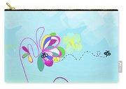Fantasy Garden Chisdren's Art - Side Panel 2 Carry-all Pouch