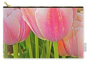 Fantasy In Pink - Tulips Carry-all Pouch