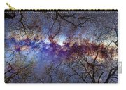 Fantasy Stars Milkyway Through The Trees Carry-all Pouch