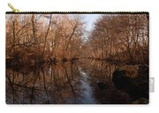Far Mill River Reflects Carry-all Pouch