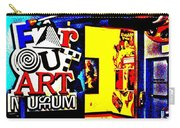 Far Out Art Museum At Wonderworks Carry-all Pouch
