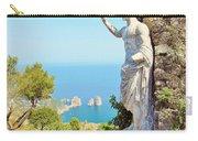 Faraglioni Rocks From Mt Solaro Capri Carry-all Pouch