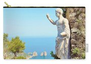 Faraglioni Rocks From Mt Solaro Capri Carry-all Pouch