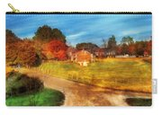 Farm - Barn -  A Walk In The Country Carry-all Pouch by Mike Savad