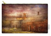 Farm - Barn - Shaker Barn  Carry-all Pouch by Mike Savad