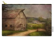 Farm - Barn - The Old Gray Barn  Carry-all Pouch