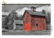 Farm - Barn - Weathered Red Barn Carry-all Pouch