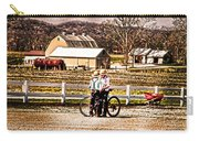Farm Boys Country Exchange Carry-all Pouch by Randall Branham