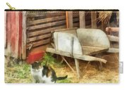 Farm Cat Carry-all Pouch