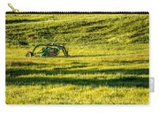 Farm Equipment In A Field Carry-all Pouch