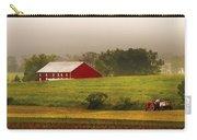 Farm - Farmer - Tilling The Fields Carry-all Pouch