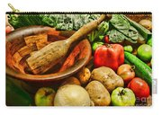 Farm Fresh Food In A Country Kitchen Carry-all Pouch