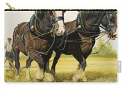 Farm Horses Carry-all Pouch