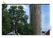 Farm - John Deere Tractor And Silos Carry-all Pouch