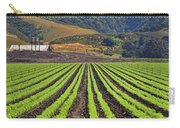 Farm Lands Of The Central Coast By Diana Sainz Carry-all Pouch