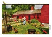 Farm - Laundry - Old School Laundry Carry-all Pouch by Mike Savad