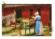 Farm - Laundry - Washing Clothes Carry-all Pouch