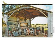Farm Shed Digital Watercolor Carry-all Pouch