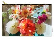 Farm Table Bouquet Carry-all Pouch
