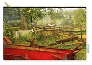 Farm - Tool - A Rusty Old Wagon Carry-all Pouch by Mike Savad