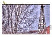 Farm - Windmill - Red Barn Farm - Missouri Carry-all Pouch