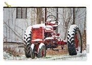 Farmall Tractor In Winter Carry-all Pouch