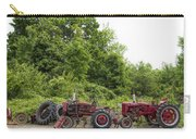 Farmall Tractors All In A Row Carry-all Pouch