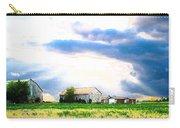 Farmer's Field At Sundown Carry-all Pouch