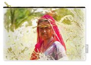 Farmers Fields Harvest India Rajasthan 8 Carry-all Pouch