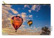Farmer's Insurance Hot Air Ballon Carry-all Pouch by Robert Bales