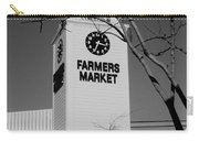 Farmers Market Bw Carry-all Pouch