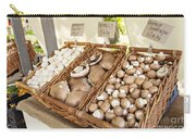 Farmers Market Mushrooms Carry-all Pouch