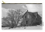 Farmhouse Black And White Carry-all Pouch